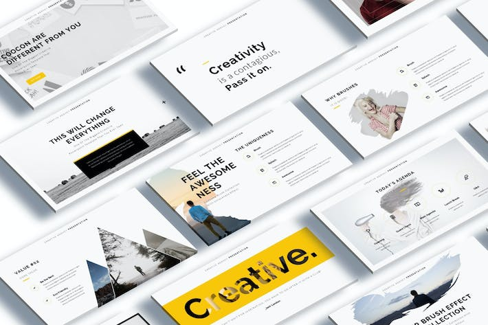 Thumbnail for Cocoon - Creative Keynote Template