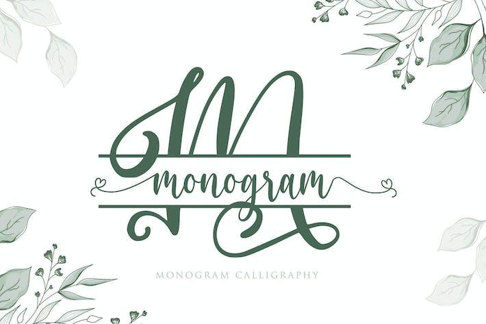 Monograma Caligrafía