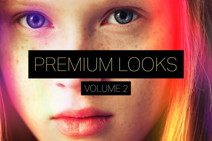 Thumbnail for Premium Looks Photoshop Actions (Vol. 2)