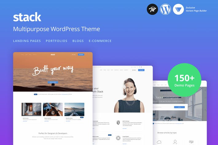 Cover Image For Stack - Mehrzweck Responsive WordPress Thema