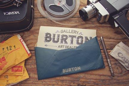 Vintage Standard Envelope