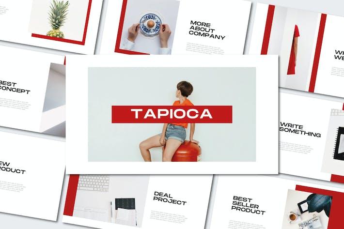 Thumbnail for Тапиока - Минимальная презентация