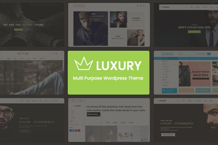 Thumbnail for Luxury - Responsive Joomla Theme