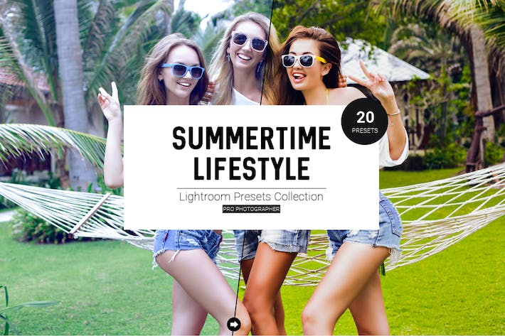 Thumbnail for Summertime Lifestyle LR Presets