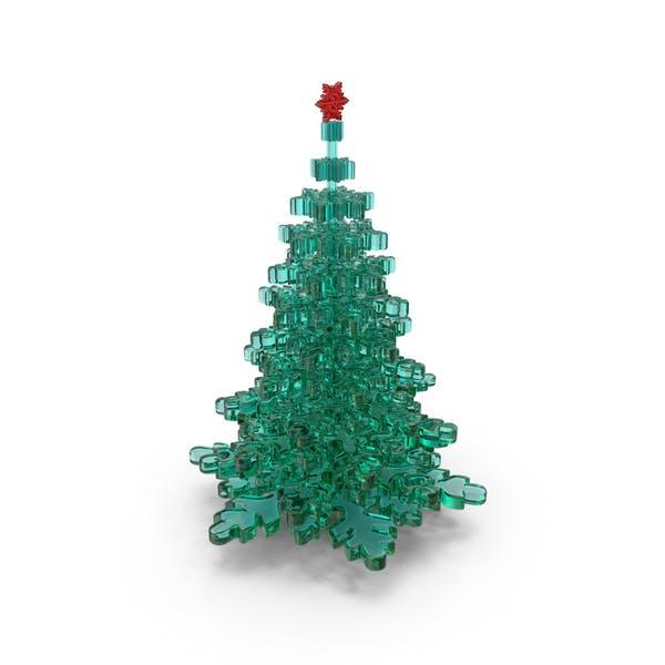 Cover Image for Glass Christmas Tree