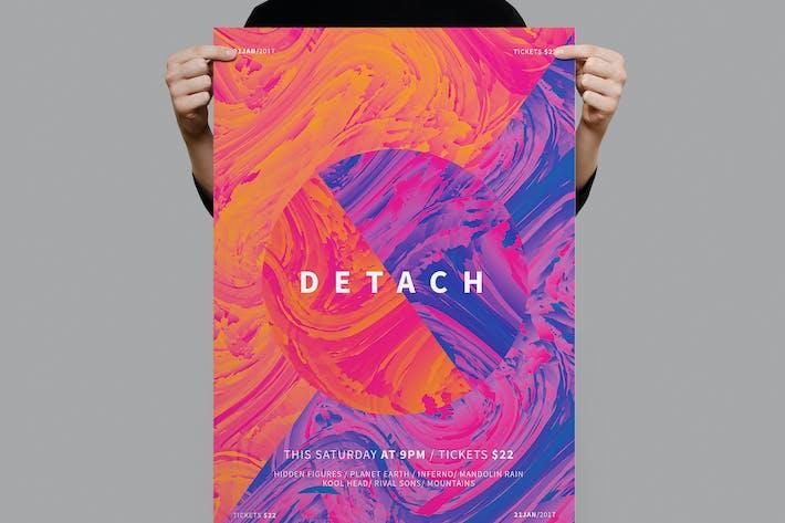 Thumbnail for Detach Poster / Flyer