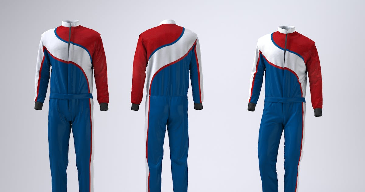 Download Driving, Racing Suit Mock-Up by Sanchi477