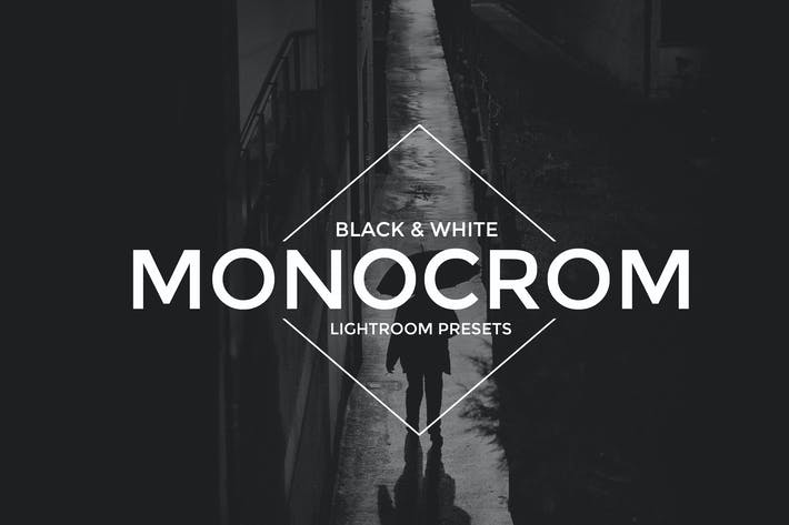 Thumbnail for Monocrom B/W Lightroom Presets