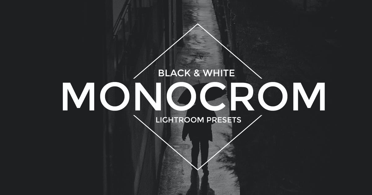 Download Monocrom B/W Lightroom Presets by Artmonk