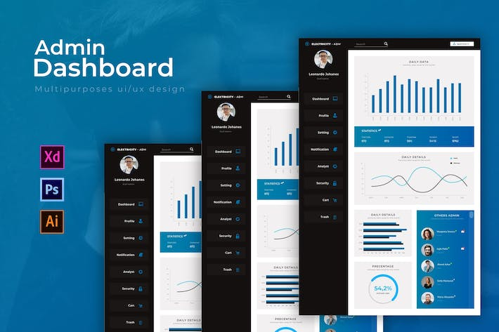 Electricity Dashboard | Admin Template