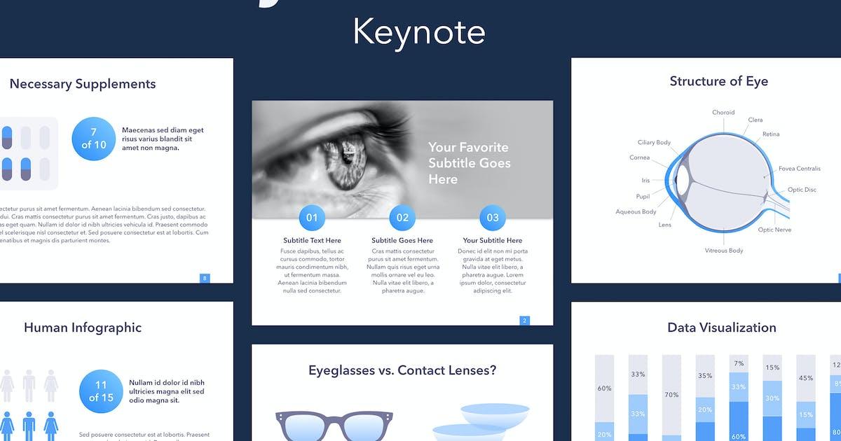 Download Eye Health Keynote Template by Jumsoft