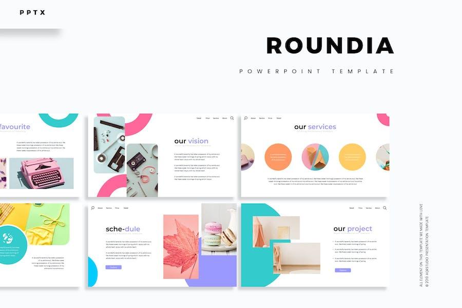 Roundia - Powerpoint Template
