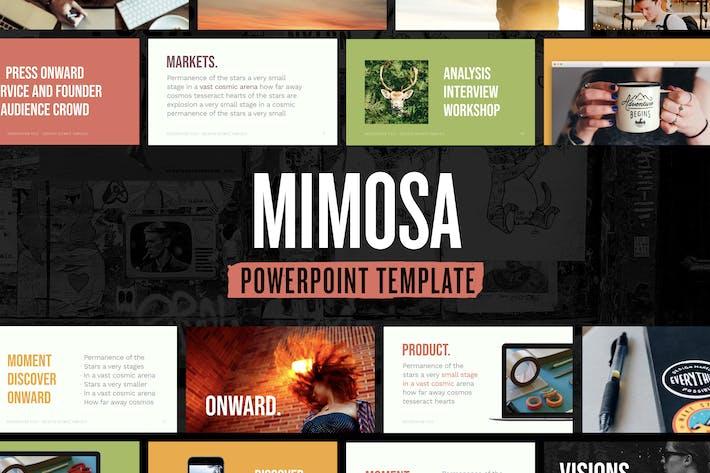 Thumbnail for Mimosa — Plantilla de Presentación de PowerPoint