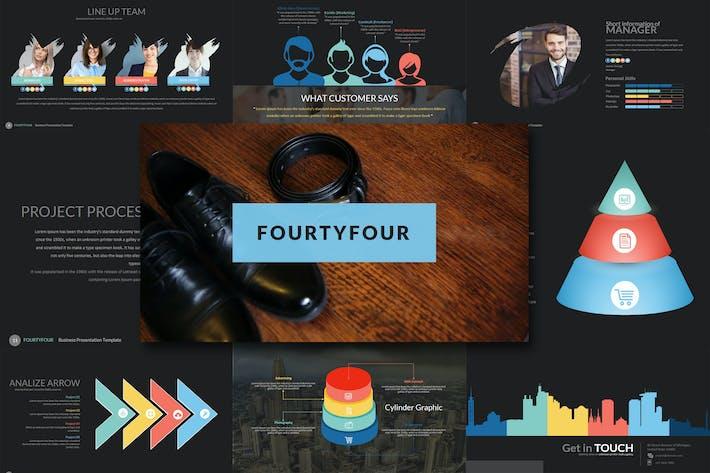 Thumbnail for Fourty 4 - Google Slides