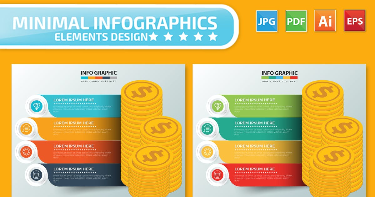 Download Money Infographics design by mamanamsai