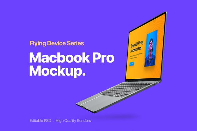 MacBook Pro Mockup 1.0 - product preview 2