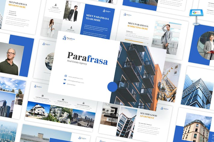 Thumbnail for Parafrasa - Real Estate Agency Keynote Template