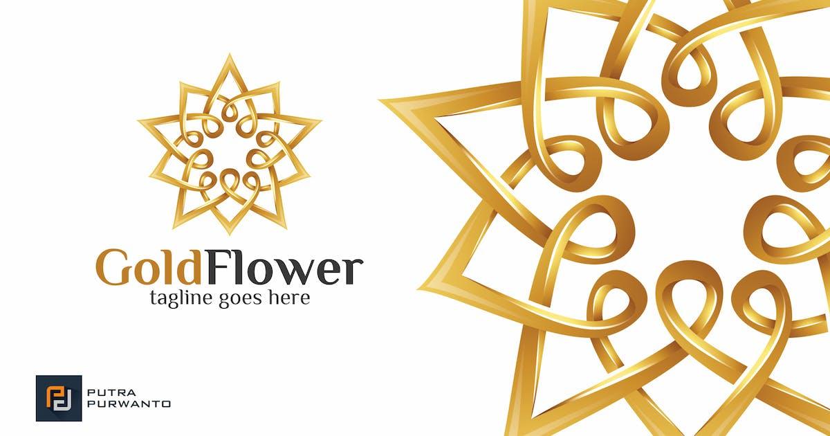 Gold Flower / Mandala - Logo Template by putra_purwanto