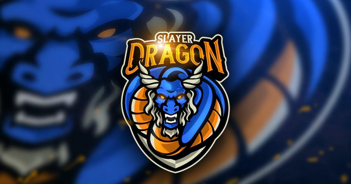 Download Dragon Slayer - Mascot & Esport Logo by aqrstudio