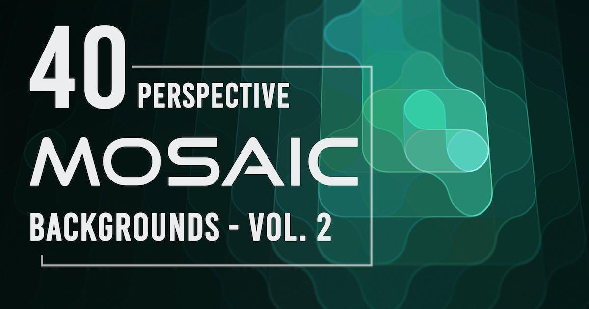 Download 40 Perspective Mosaic Backgrounds - Vol. 2 by Eldamar_Studio