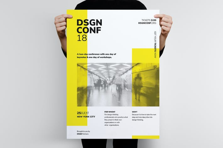 Thumbnail for DSGN Series 6 Poster / Flyer Template