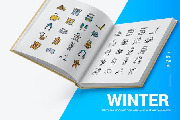 Winter - Icons