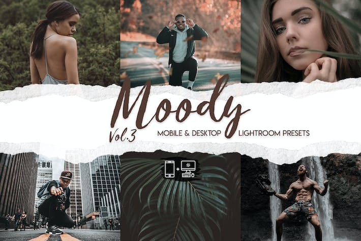 Cover Image For Moody Lightroom Presets Vol. 3