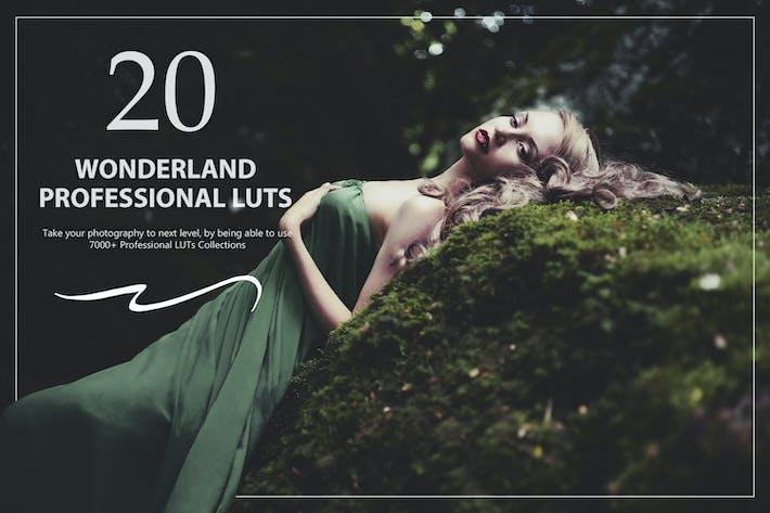 20 Wonderland LUTs Pack