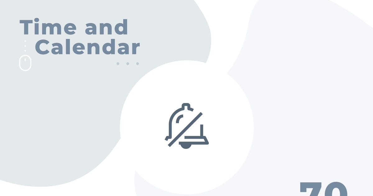 Download 70 Time and Calendar icon set - Material by Justicon