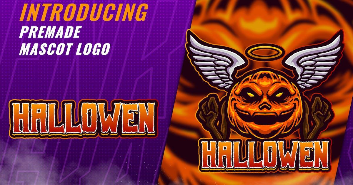 Download Hallowen Pumkin - Mascot Esport Logo Template by FNRGraphics
