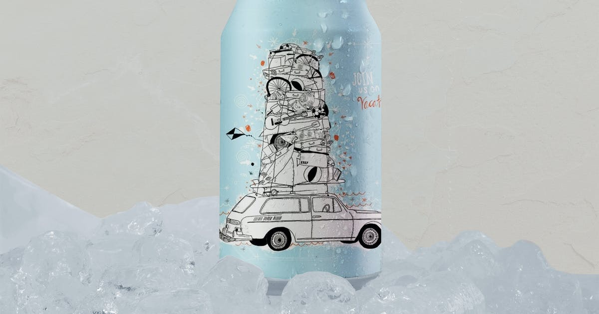 Download Ice Fresh Can Mockup by RetroBox