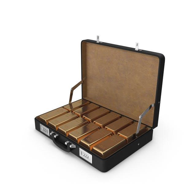 Briefcase of Gold Ingots
