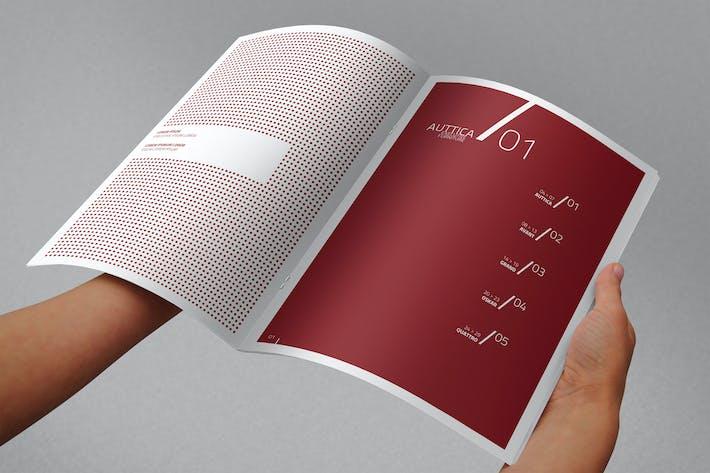 Thumbnail for A4 Brochure Mock-up