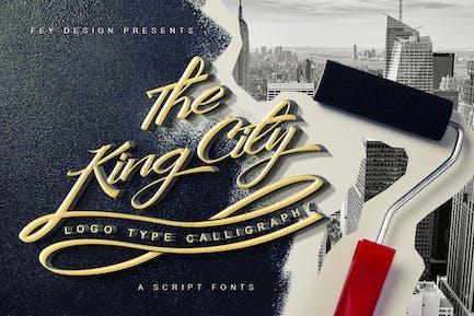 King City - Script Font