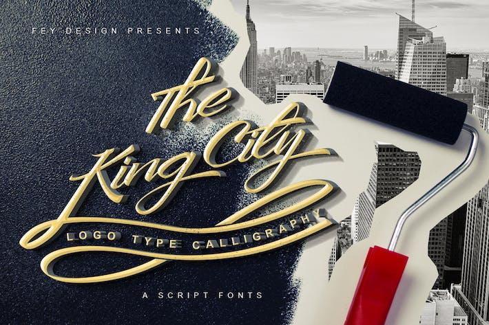 Thumbnail for King City - Script Font