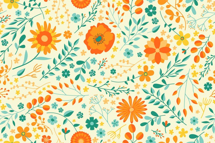 Thumbnail for Summer Flower Pattern
