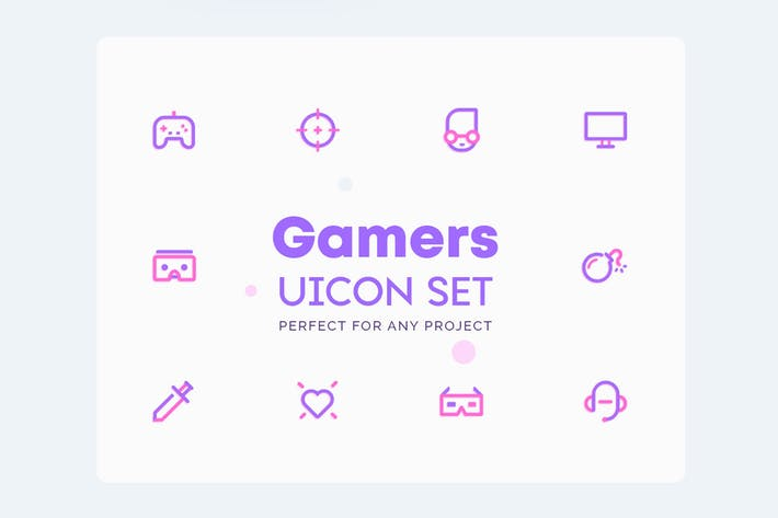 UICON Gamers Icons
