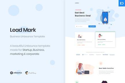 LeadMark - Lead Generation Unbounce Landing Page
