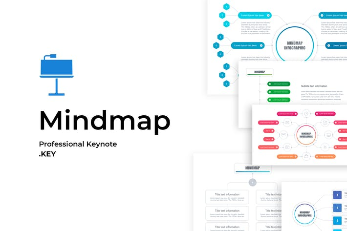 Thumbnail for Mindmap Keynote Template