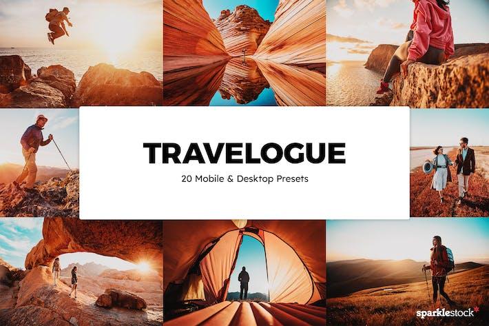 20 пресетов и LUT Travelogue Lightroom