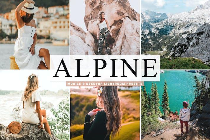 Thumbnail for Alpine Mobile & Desktop Lightroom Presets