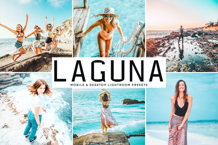 Thumbnail for Laguna Mobile & Desktop Lightroom Presets