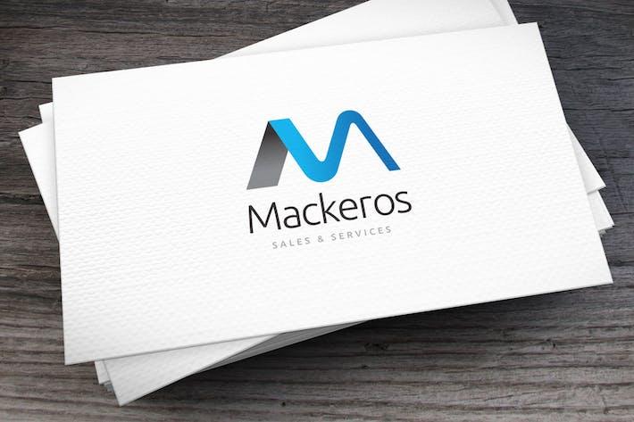 Thumbnail for Mackeros Letter M Logo Template