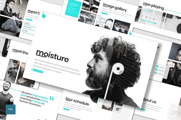 Thumbnail for Moisture - Keynote Template