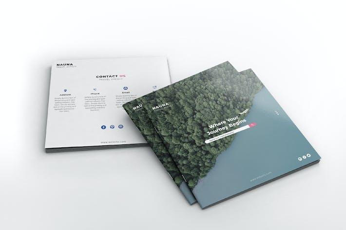Thumbnail for Nauna - Travel Agency Square Brochure