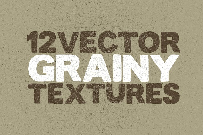 Thumbnail for Vector Grainy Textures x12