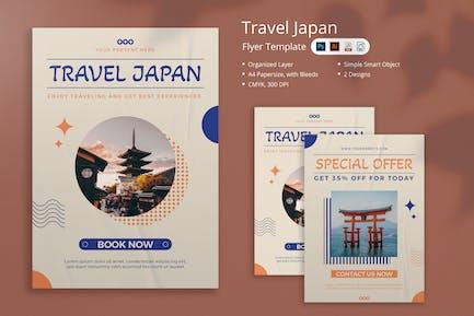 Travel Japan Flyer