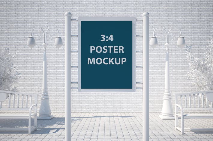 Thumbnail for Street Poster Mockup