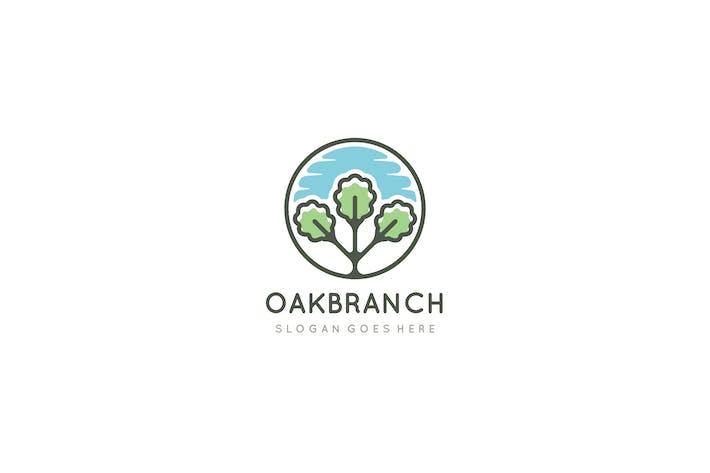 Thumbnail for Oak Branch Logo