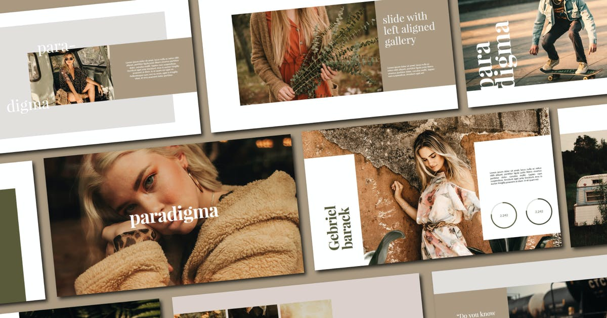 Download Paradigma   Powerpoint Template by amarlettering